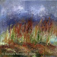 Haze - Acrylic On Canvas Paintings - By Barbara Monahan, Abstract Painting Artist