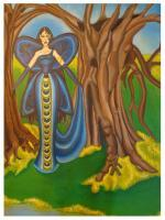 Fantasy Women - The Butterfly Fairie - Acrylic