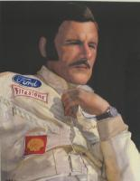 Auto Racing - Graham Hill - Watercolor