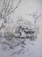 Toms Ink - Appalachia Mountain Shed - Ink And Pencils