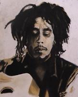 Portraits - Mr Marley - Pastel