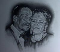 Portraits - Commissioned - Charcoal