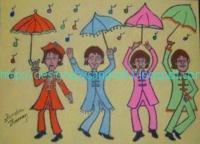 Beatles - Under My Umbrella - Acrylic