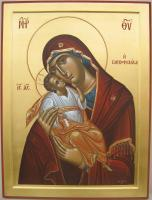 Icons - Virgin Mary - Egg Tempera