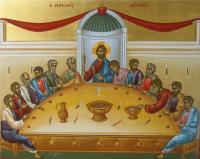 Icons - The Last Supper - Egg Tempera