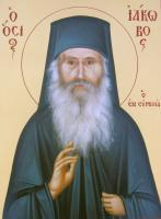 Portraits - Monk Iakovos - Egg Tempera