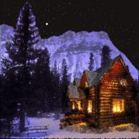Photoshopped - Cabin In The Woods - Digital