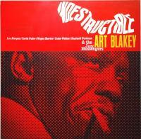 Blue Note - Art Blakey Indestructible - Oil On Canvas