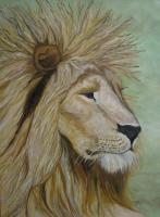 Original Paintings - Leoni King - Oil On Canvas