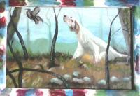 Painting - Hunting Dog - Art