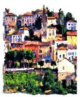 Representational - Manarola - Artists Giclee