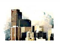 Urban - Denver Skyline - Artists Giclee