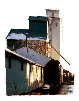Representational - Grain Elevator - Artists Giclee