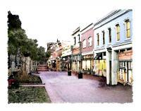 Representational - Pearl Street Boulder - Artists Giclee