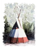 Representational - The Teepee - Artists Giclee