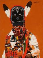 Matachines - Ancestors Spirit - Oil On Linen