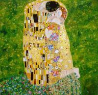 Sold - Kiss Of Klimt - Oil On Canvas
