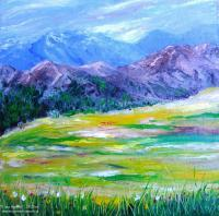 Landscape - After The Storm - Oil On Canvas