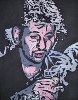 Shane Macgowan - Acrylic Paintings - By Eric Ervasti, Portrait Painting Artist