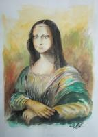 Painters Collection - La Monalisa - Watercolor