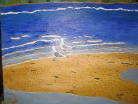 Nature - A Day At Chicken Ranch Beach - Acrylic
