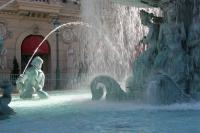 Architectural Images - Waterfall At Cesars Palace - Canon 20D