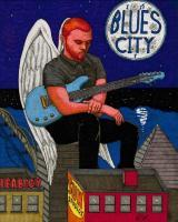 Blues City Angel - Sharpiebic Markers Drawings - By Mk Flood, Sharpiebic Art Drawing Artist