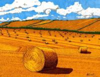 Hayday - Sharpiebic Markers Drawings - By Mk Flood, Sharpiebic Art Drawing Artist
