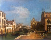 Private Collection - Venice 2014 - Acrylic On Canvas