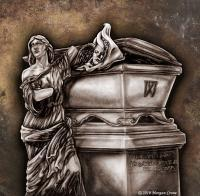 Fantasy - The Grave Of William Warner - Graphite