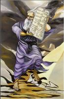 Biblical Art Art - Moses - Oil On Canvas