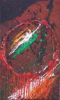 Belfast Dreamcatcher - Mixed Media Mixed Media - By Brian Rock, Abstract Expressionism Mixed Media Artist