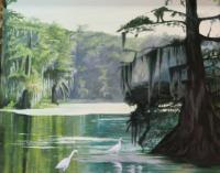 Landscapeswater - Bend Of The Wakulla - Oil