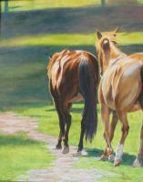 Animals - Shade Seekers - Oil