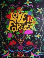 Posters By Steve - Love Is Forever - Ink Marker On Cardboard