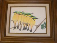 Colored Pencil - Little Bee Eaters - Colored Pencil