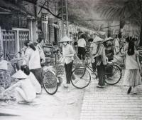 Hanoi Wetmarket - Pencil Drawings - By Fred Hebing, Realism Drawing Artist