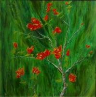 Add New Collection - Forever Bougainvillea - Acrylic