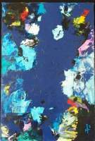 Pops Art 4 - Blue Waters - Acrylic On Canvas