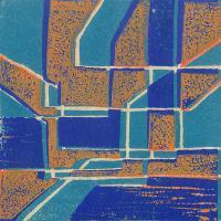 Abstracts - Abstract6 - Linolium Block Print