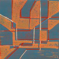 Abstracts - Abstract4 - Linolium Block Print