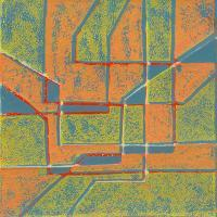 Abstracts - Abstract5 - Linolium Block Print