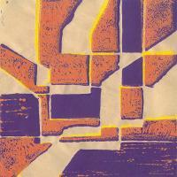 Abstracts - Absract2 - Linolium Block Print