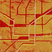 Abstracts - Abstract8 - Linolium Block Print