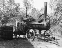 Sorghum Machine - Bw Photography 35Mm Photography - By Heidi Black, Historical Portrayals Photography Artist