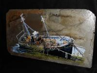 Wreck - Acrylic Painting Paintings - By Travis Mullins, Realistic Painting Artist