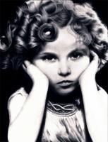 Pencil Drawings Of Famous Peop - Shirley Temple Pencil Drawing - Pencil  Paper