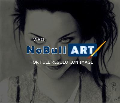 Pencil Drawings Of Famous Peop - Amy Lee Of Evanescence Pencil Drawing - Pencil  Paper