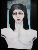 The Beauty Of Suffering - Isus - Oil And Acrylic On Wood