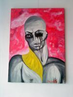 The Beauty Of Suffering - Nikifor - Acrylic On Canvas
